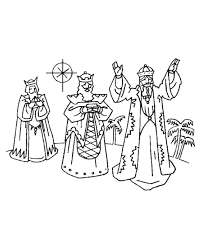 Three Wise Men Coloring Page 299638 Wise Worship Coloring Page