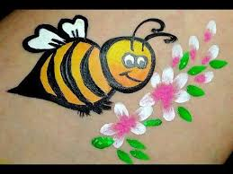 Painting Designs Best 25 Bumble Bee Face Paint Ideas On Pinterest Easy Face