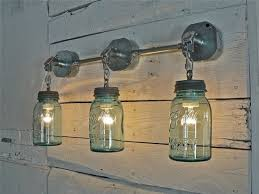 Wall Mount Light Fixtures Vintage Jar Wall Mount Lighting The Blue Cabinet