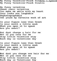 valentine my funny valentine image inspirations songselect