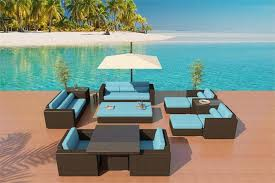 wicker patio furniture los angeles las vegas and san go about blue