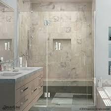 shop dreamline unidoor x 67 in to 67 5 in frameless shower door at