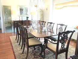 superb heritage dining room furniture used drexel heritage dining