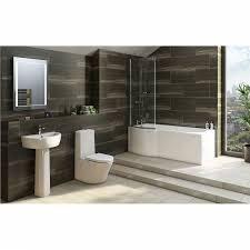 L Shaped Shower Bath Shower Bath Suites Tres Brianza Right Hand Shower Bath Suite