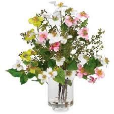 Fake Flower Centerpieces Silk Flower Arrangements Polyvore