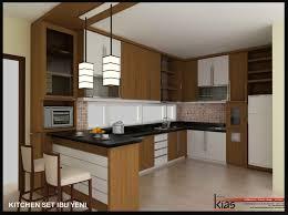 desain kitchen set minimalis modern tfq architects contoh kitchen set