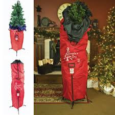 artificial tree storage bag decor