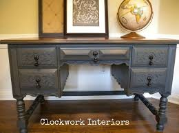 Chalk Paint Desk by Makeover Of A Desk And Mahogany Chair Hometalk