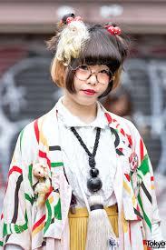 Japanese Designer by Kimono Doll Heads U0026 Giant Tassel Necklace In Harajuku