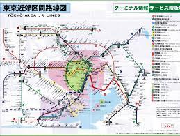 Osaka Train Map Tokyo Railway Map Stock Photos Tokyo Railway Map Stock Images