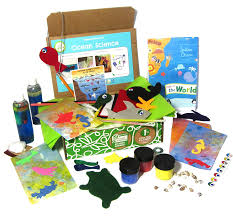 amazon com green kid crafts ocean science discovery box toys