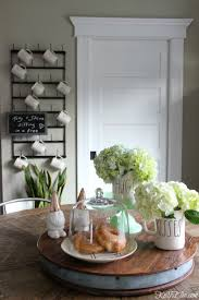 Dining Table Centerpiece Decor by Dining Tables Spring Decorating Ideas Simple Dining Table