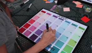 how to make a diy paint chip calendar diy projects craft ideas