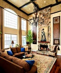 exteriors archaiccomely high ceiling tuscan living room ideas