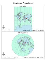 Map Projection Geog 7 Lab 5 Map Projections