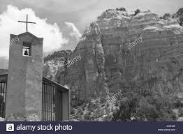 monastery of christ in the desert abiquiu nm stock photo
