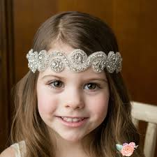 flower headbands new soft headband rhinestone diamond flower headbands