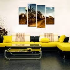 Home Decor For Bedroom Contemporary Wall Art Steam Train Giclee Canvas Prints Home Decor