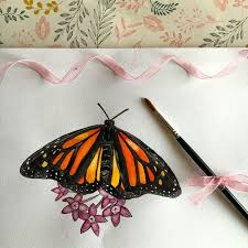 how to draw and paint a butterfly by butterfly craft