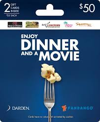 dinner and a gift card 13 best fandango gift card images on coupon coupons