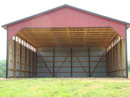dig easy to hay barn building plans
