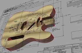 printable guitar template pdf page 9 telecaster guitar forum