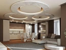 Modern False Ceiling Designs Of Gypsum Board With Hidden Ceiling - Modern living room ceiling design