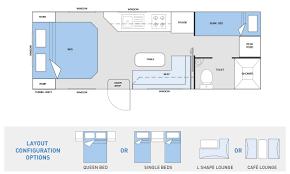 Caravan Floor Plans Australis Series