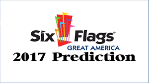 Six Flags Logo Six Flags Great America 2017 Prediction Youtube