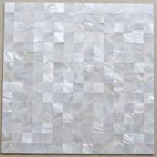mother of pearl tile mirror wall decor mesh mounted 4 5 inch