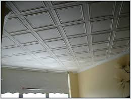 Drop Ceiling Tile Decorative Drop Ceiling Tiles With Recessed