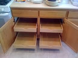 Kitchen Cabinet Rolling Shelves Diy Kitchen Cabinet Rollout Shelves Diggerslist