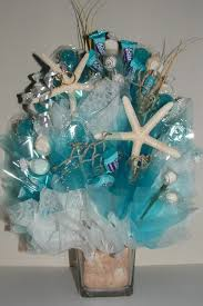 Starfish Wedding Centerpieces by Beach Wedding Centerpiece W Edible Favors An Elegant Candy