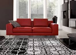 Red White And Blue Rugs Rugs Contemporary Bedroom In Red Black And White Dark Red