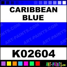 caribbean blue h2o enamel paints k02604 caribbean blue paint