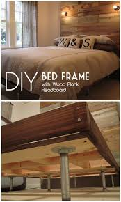 How To Build Bed Frame And Headboard 45 Easy Diy Bed Frame Projects You Can Build On A Budget