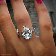 teardrop diamond ring teardrop diamond wedding ring diamond rings for sale ebay placee