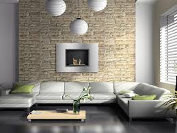 luxury natural living room design with white sleeper sofas and low