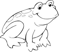 frog template printable 454977