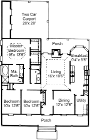 two car carport plans port baton rouge southern home plan 024d 0169 house plans and more