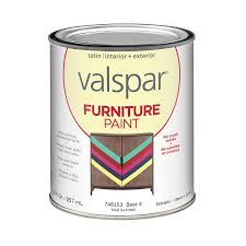 Lowes Valspar Colors Shop Valspar Furniture Satin Latex Interior Exterior Paint Actual