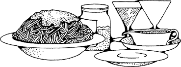bowl of pasta clipart 29