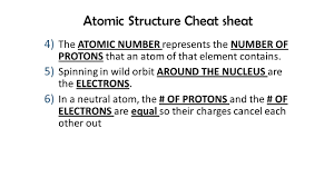 notes 7 atomic cheat sheet ppt video online download