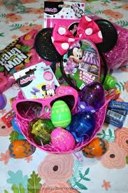minnie mouse easter baskets disney minnie mouse easter basket from dollar tree