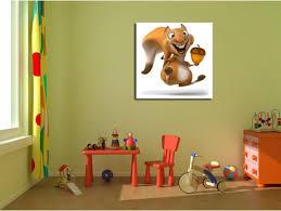 tableau d馗oration chambre tableau deco de chambre d enfant ecureuil déco design pas chère