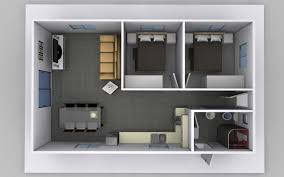 two bedroom granny flat plans for australia
