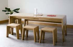 Kitchen Tables With Bench Seating And Chairs by Dining Table With Bench Seats