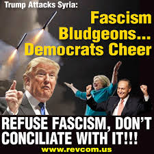 Syria Meme - why the democrats cheer trump when he wages war and why we must