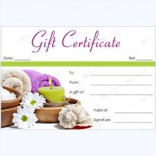 birthday gift certificate template free download u2013 the best most