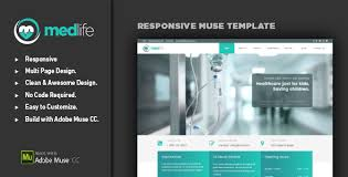 medlife medical u0026 health muse template by advthemes themeforest
